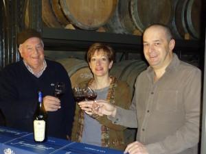 Jacques, Nathalie et Philippe TISSOT